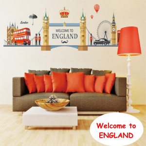 Sticker perete Welcome to England