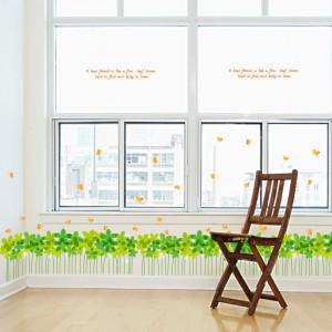Sticker Trifoi perete / geam