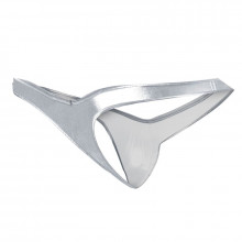 Cut4Men - Pouch Enhancing Thong Silver L