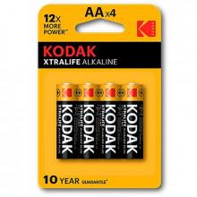 Bateria Alcalina Kodak Xtralife Aa Lr6 * 4