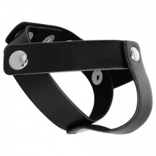 Darkness Leather C / B Strap H-Piece Divide