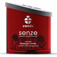 Vela de Massagem Swede Senze Teasing aroma Ylang Ylang