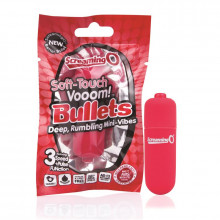 Bala Vibradora Soft Touch - Color Vermelho