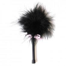 Secretplay Black Marabou Duster