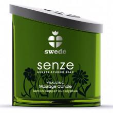 Vela de Massagem Swede Senze Vitalizing aroma Limão, Pimenta e Eucalipto