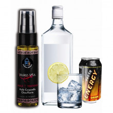 Óleo Corporal Gourmet Vodka Energy Drink 35 ml