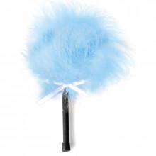 Secretplay Light Blue Marabou Duster