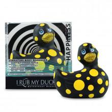 I Rub My Duckie 2.0 | Felicidade (Preto E Amarelo)