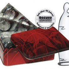 Preservativos Secura Lubrificados Naturais Caixa 50