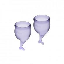 Satisfyer Feel Secure Menstrual Cup Roxo 15 + 20Ml
