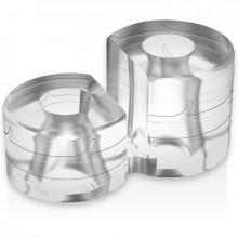 Alimentação Do Anel Super Flexível Resistente Double Pr12 Clear