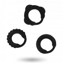 Conjunto C-Ring Addicted Toys Preto