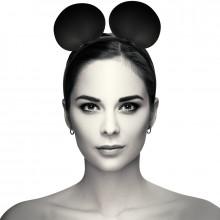Coquette Chic Desire Headband Com Mouse Ears