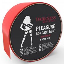 Darkness Sticky Tape Red 15M
