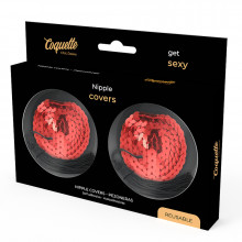 Coquette Chic Desire Nipple Covers Vermelho