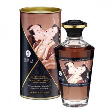 Óleo Massagem Afrodisiaco Shunga Chocolate 100 ml