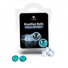 Bolas Brasileiras Efeito Frio 2 Unidades