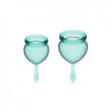 Satisfyer Sinta-Se Bom Menstrual Cup Dark Green 15 + 20Ml
