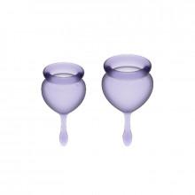 Satisfyer Sentir Bom Menstrual Cup Roxo 15 + 20Ml