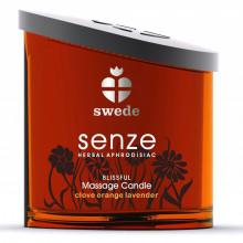 Vela de Massagem Swede Senze Blissful aroma Laranja e Lavanda