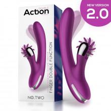 Vibrador Action Finger com Roda Estimuladora Nº Two