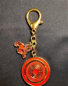 Amuleta-breloc Dakini cu Pi Yao pentru protectia averii