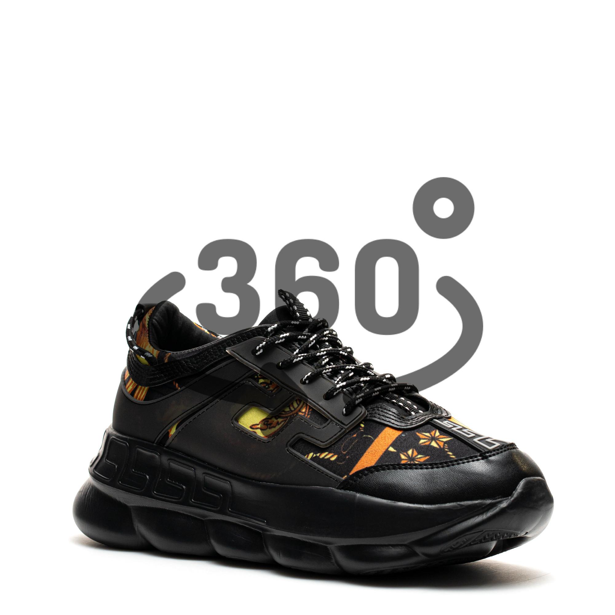 Pantofi Sport Cod: H7 BLACK (j 04)