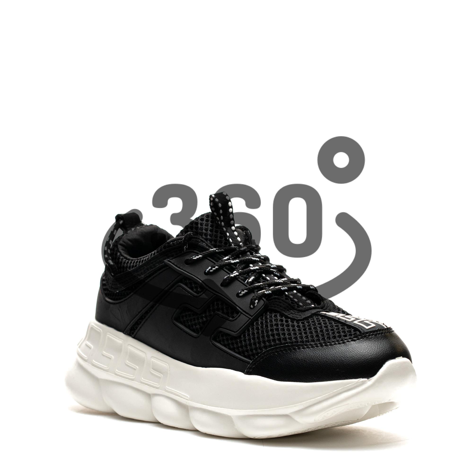 Pantofi Sport Cod: H3 BLACK/WHITE (I 04)