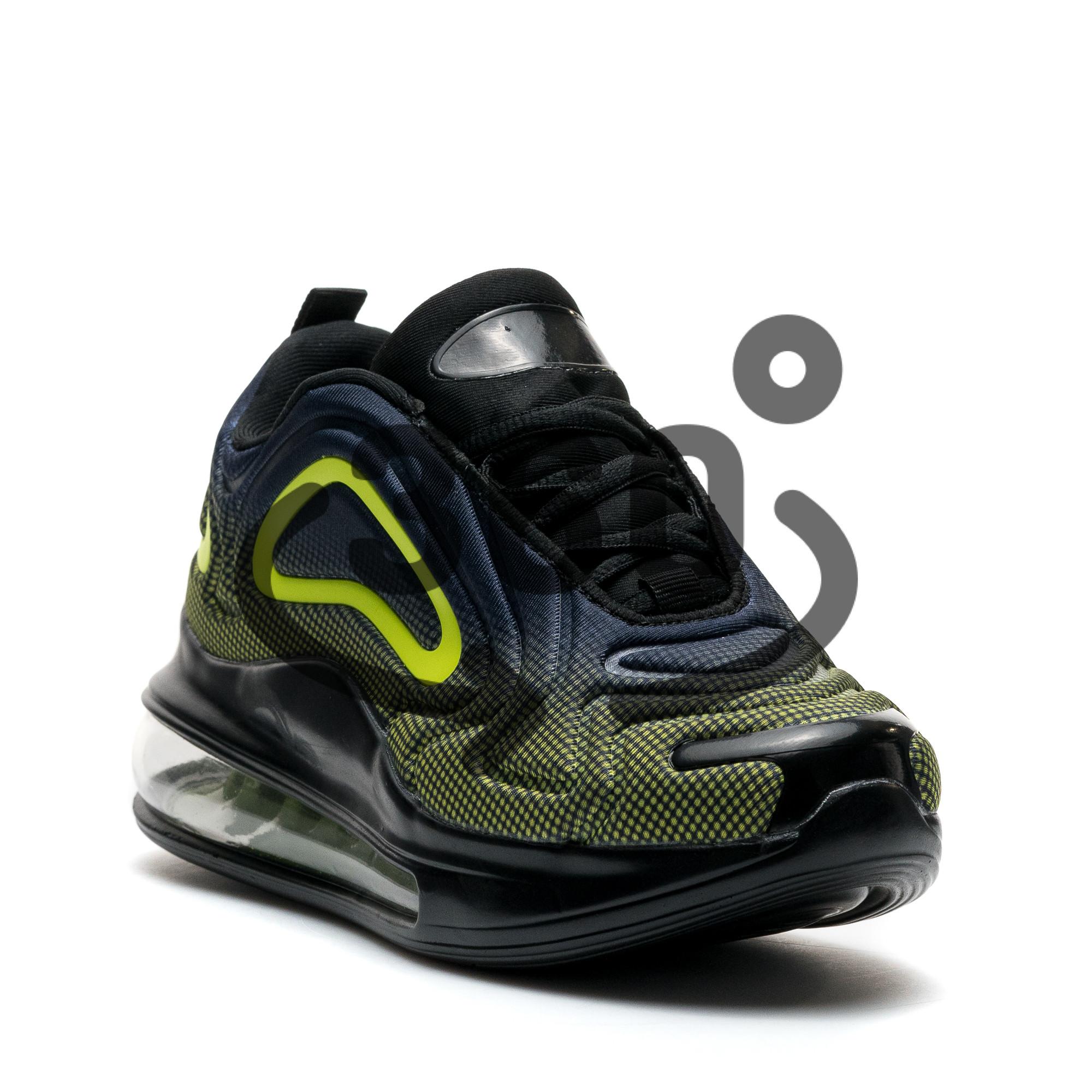 Pantofi Sport Cod: 367-10 BLACK/GREEN (E010)