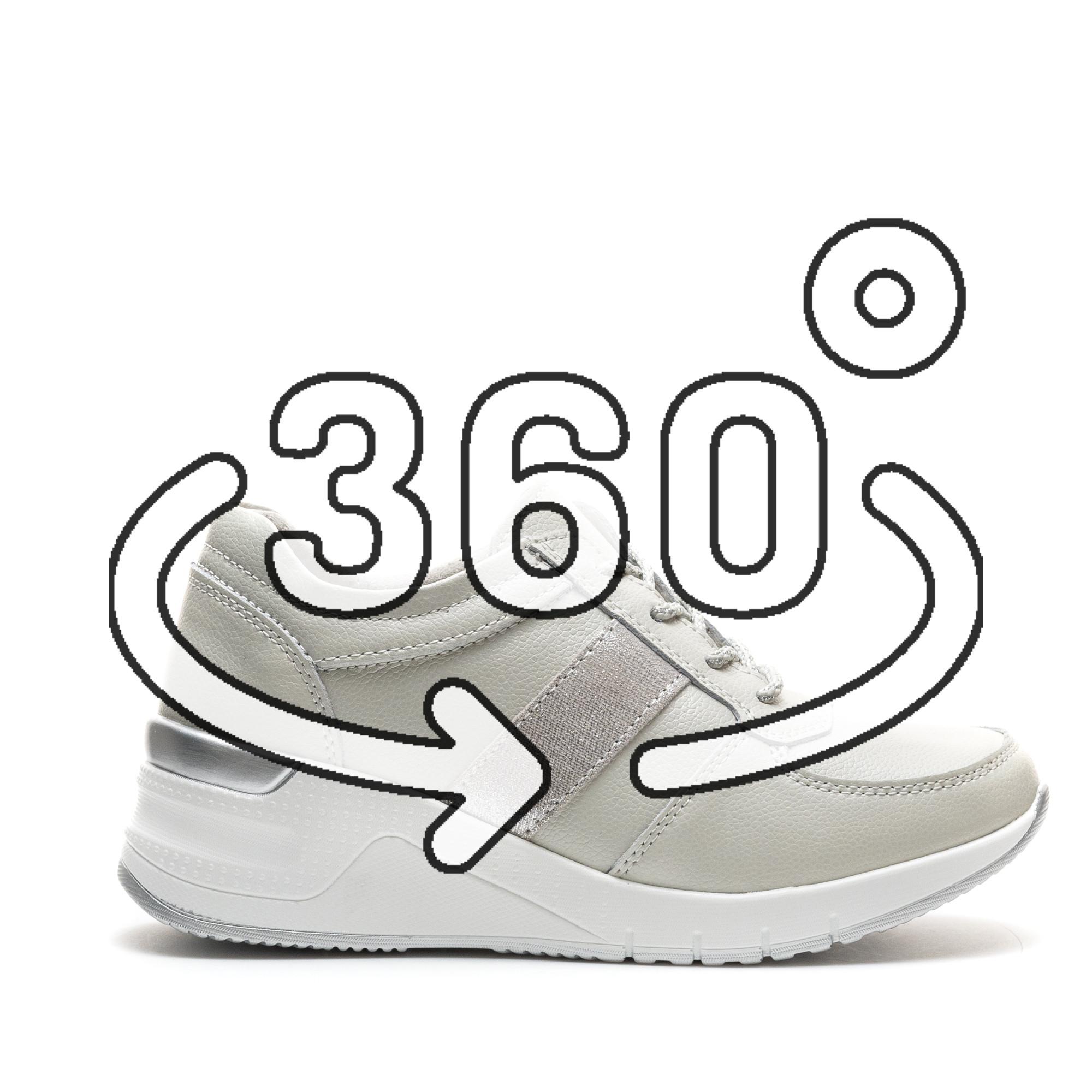 Pantofi Sport Cod: ZT-01 SILVER (H01)