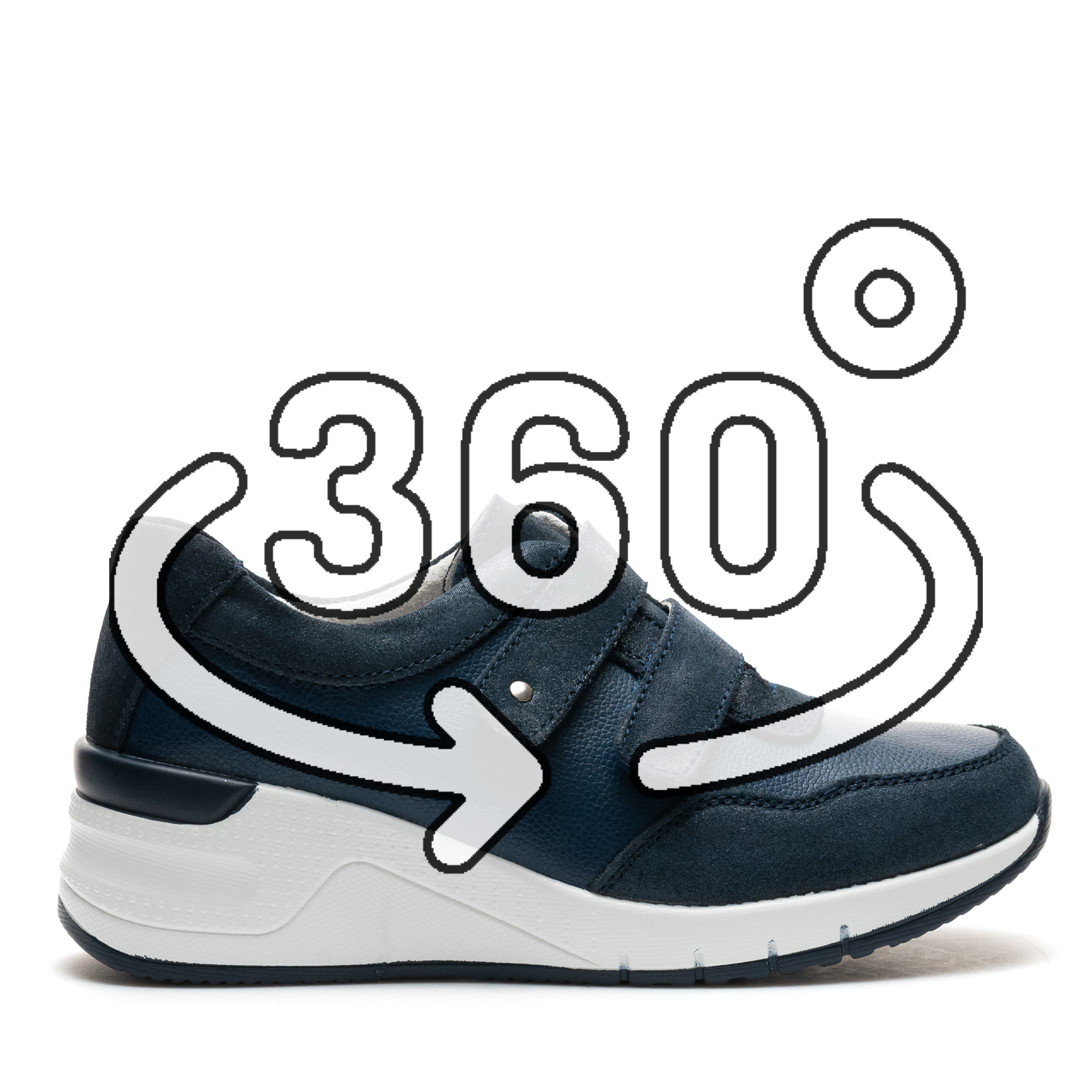 Pantofi Sport Cod: ZT-02 NAVY (H02)