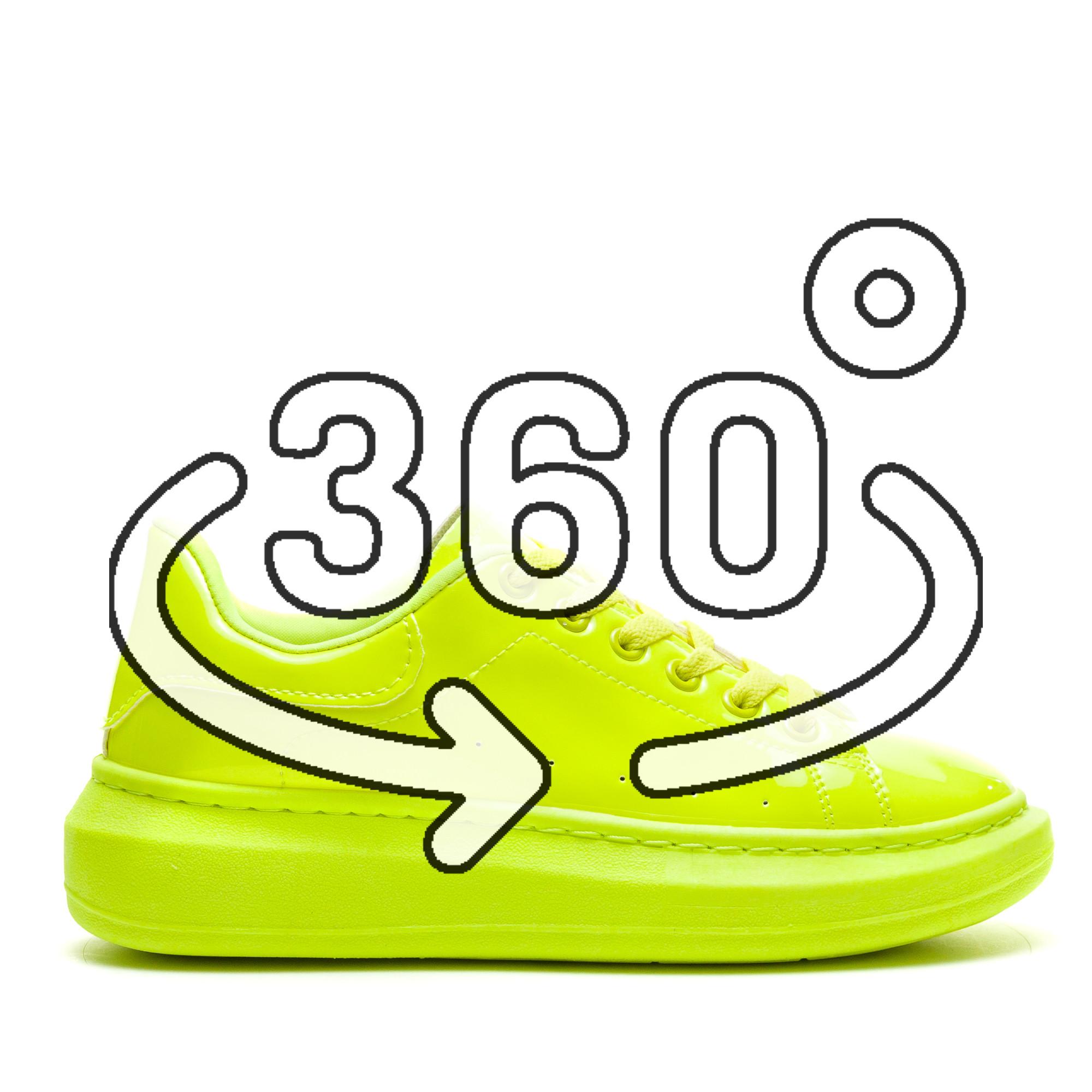 Pantofi Sport Cod: R-690 YELLOW (I 02)