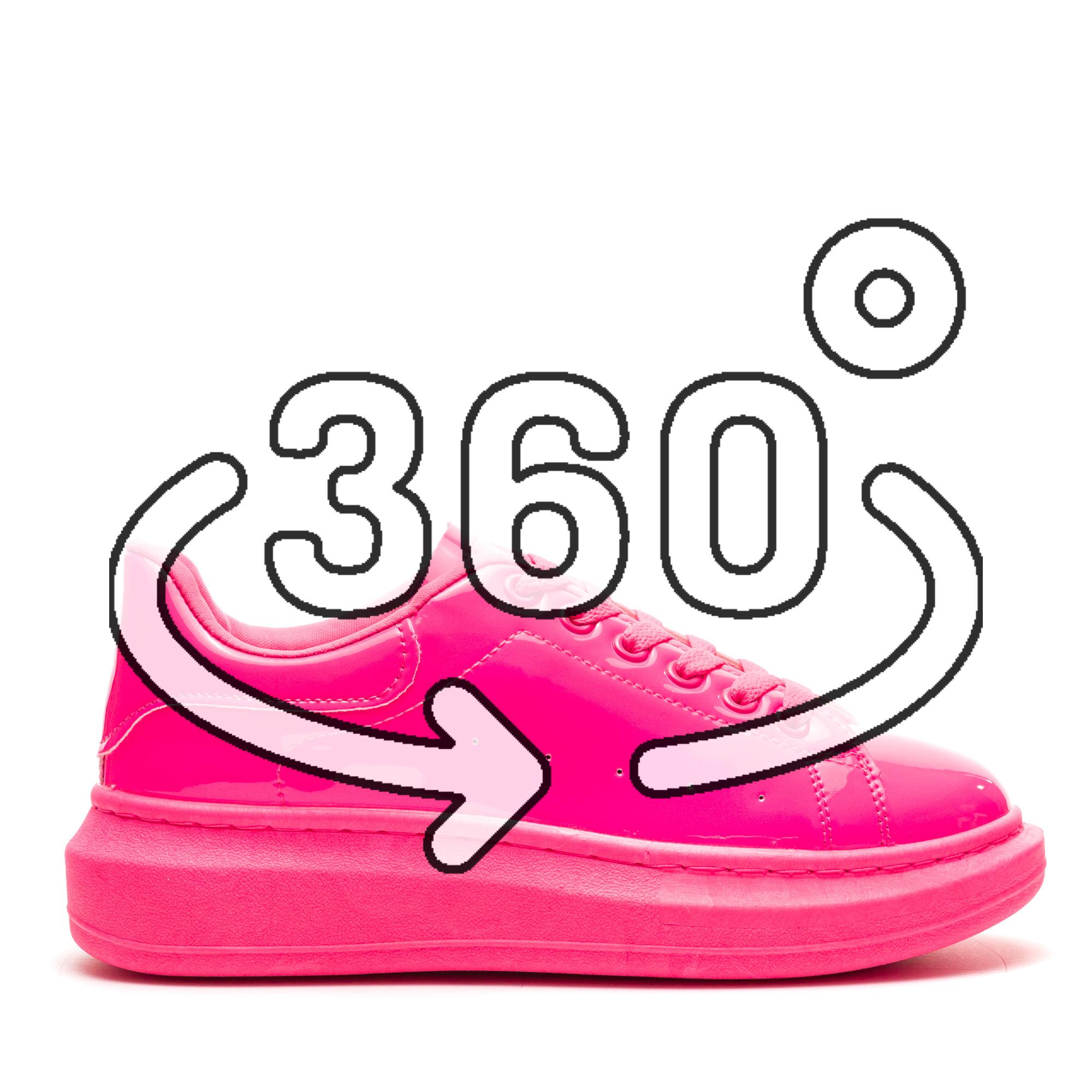 Pantofi Sport Cod: R-690 PEACH (H02)