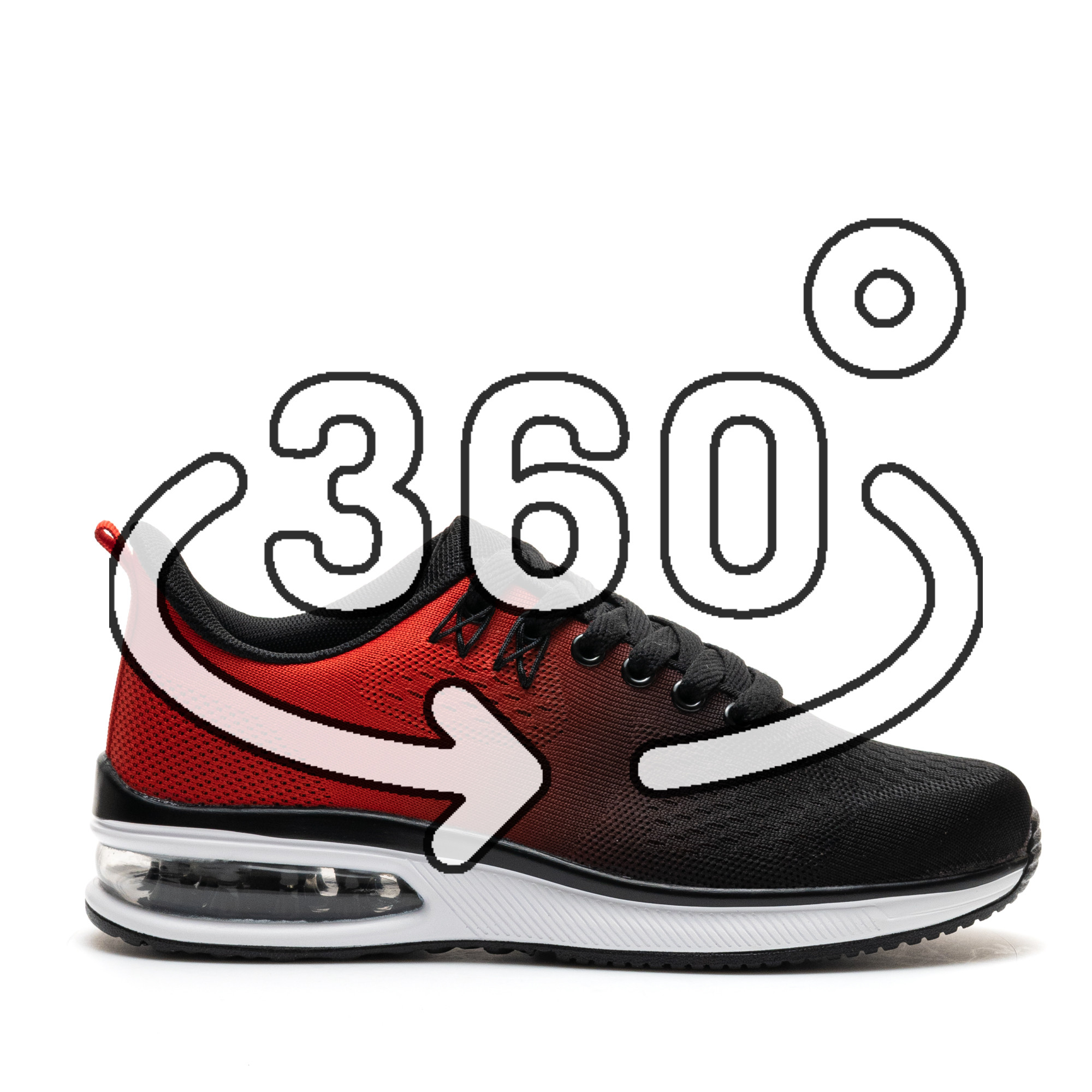 Pantofi Sport Cod: SH-96 RED (C 06)