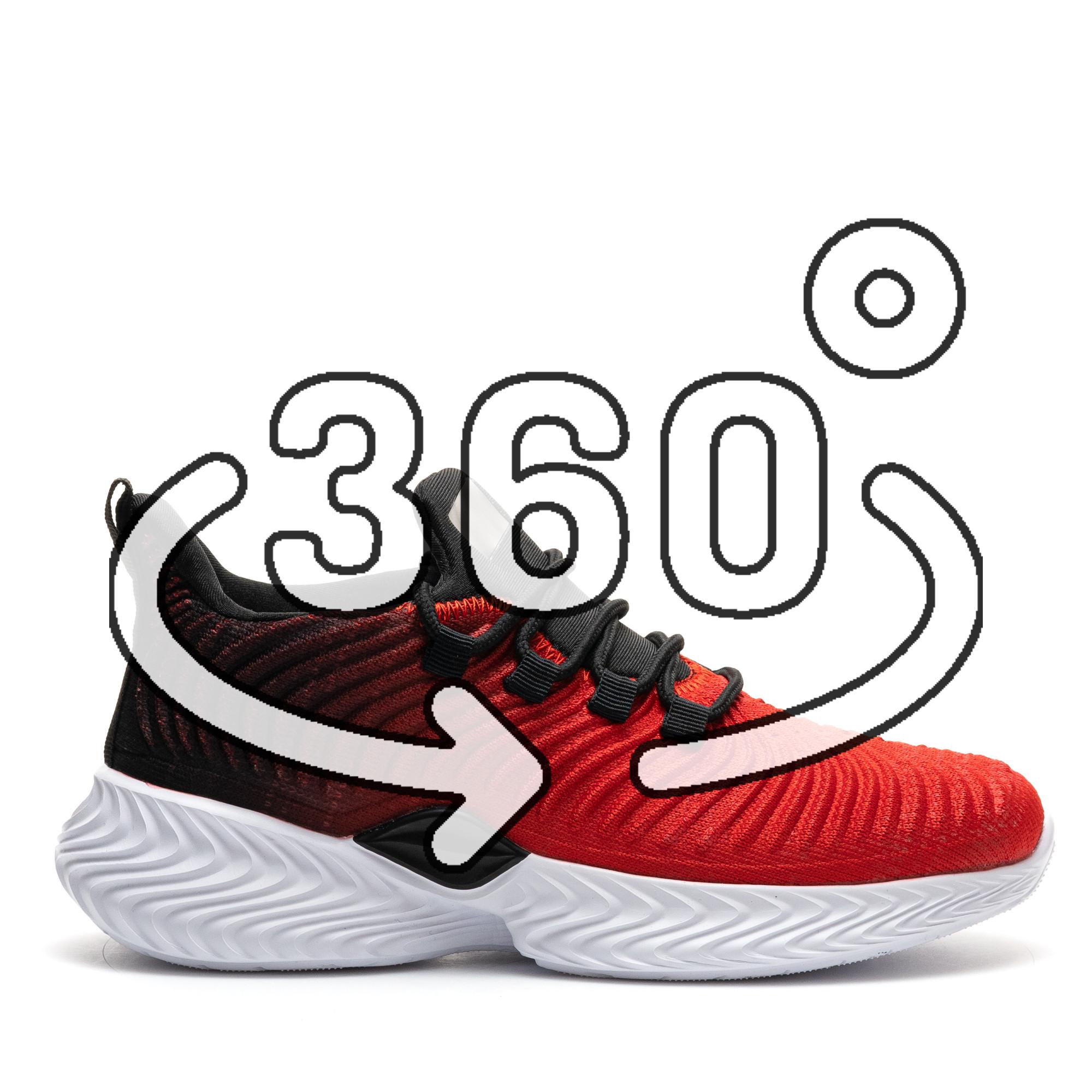 Pantofi Sport Cod: D8305-4 RED/BLACK (F03)