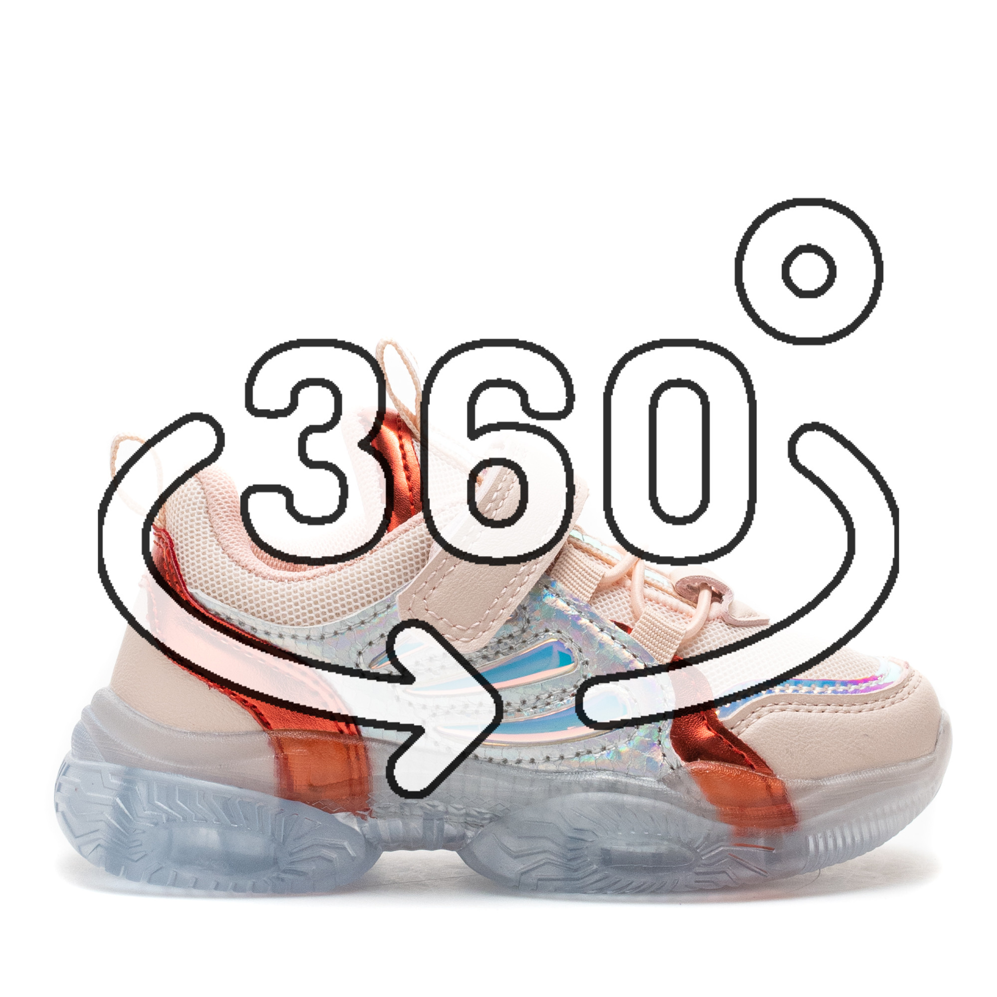 Pantofi Sport Cod: LD-3026C PINK (D02)