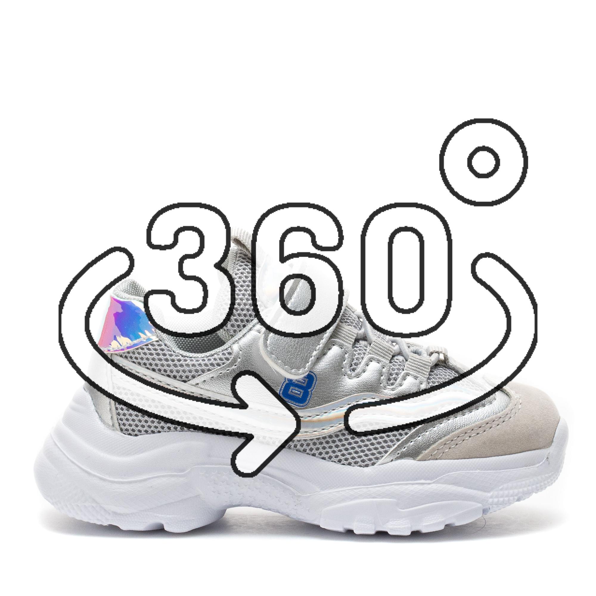 Pantofi Sport Cod: LD-1303 SILVER (J02)
