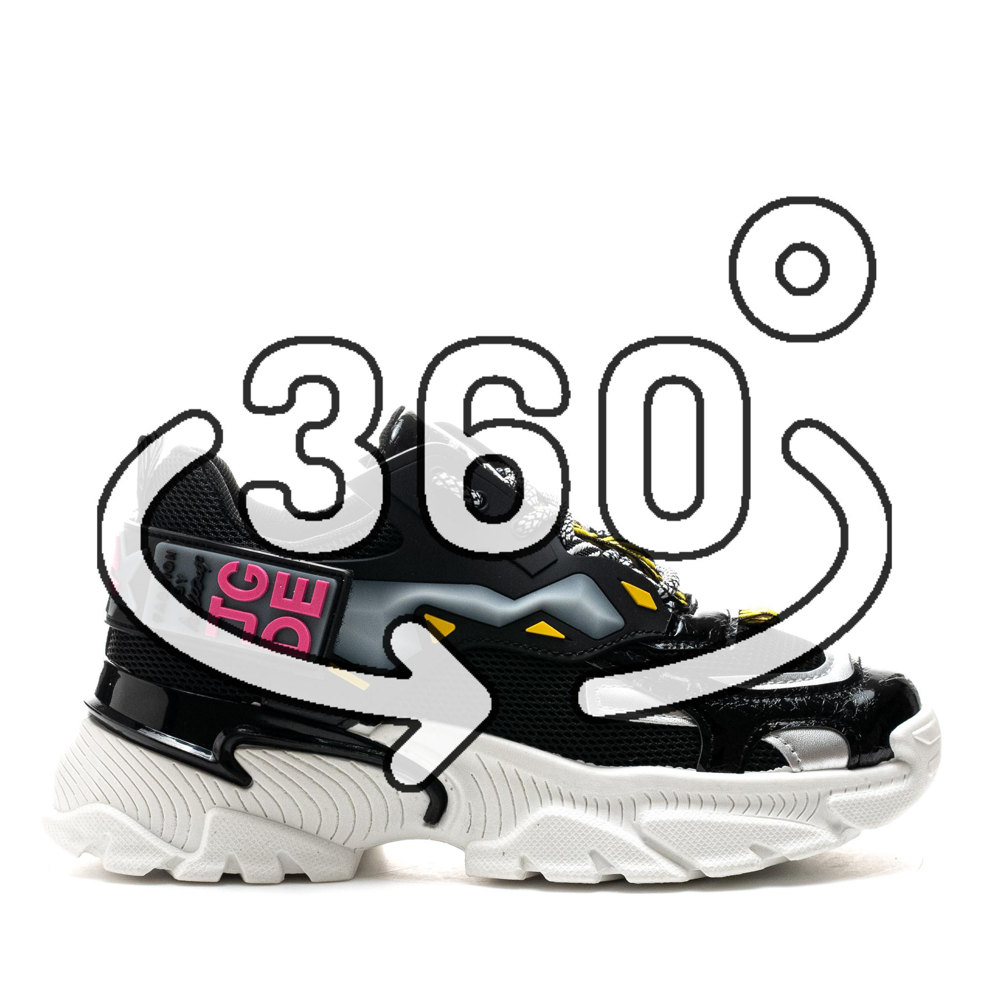 Pantofi Sport Cod: A80-1 BLACK (F01)