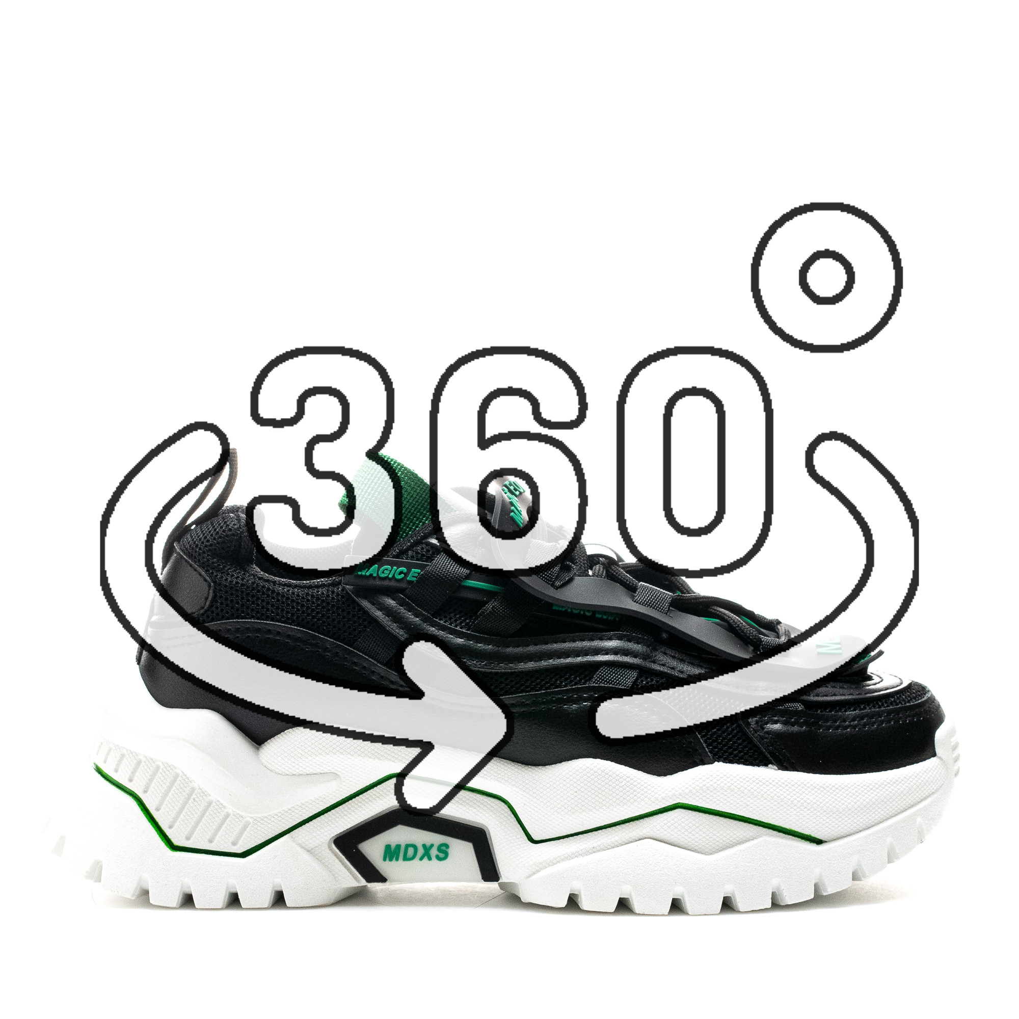Pantofi Sport Cod: K03-1 BLACK (J04)
