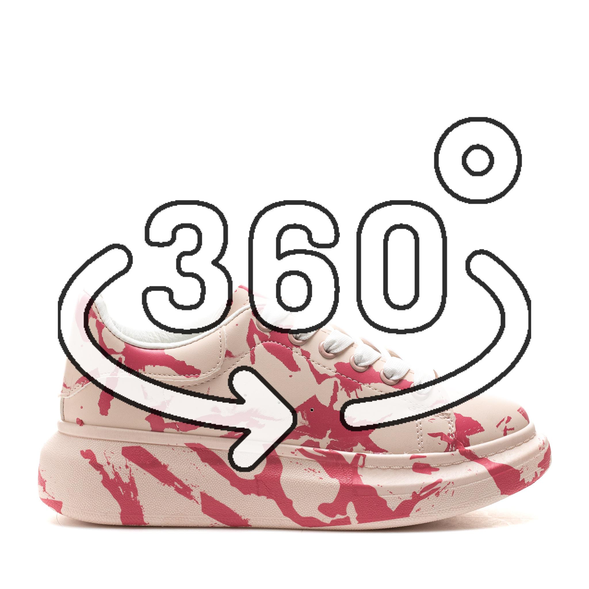 Pantofi Sport Cod: 6608-4 PINK (F03)