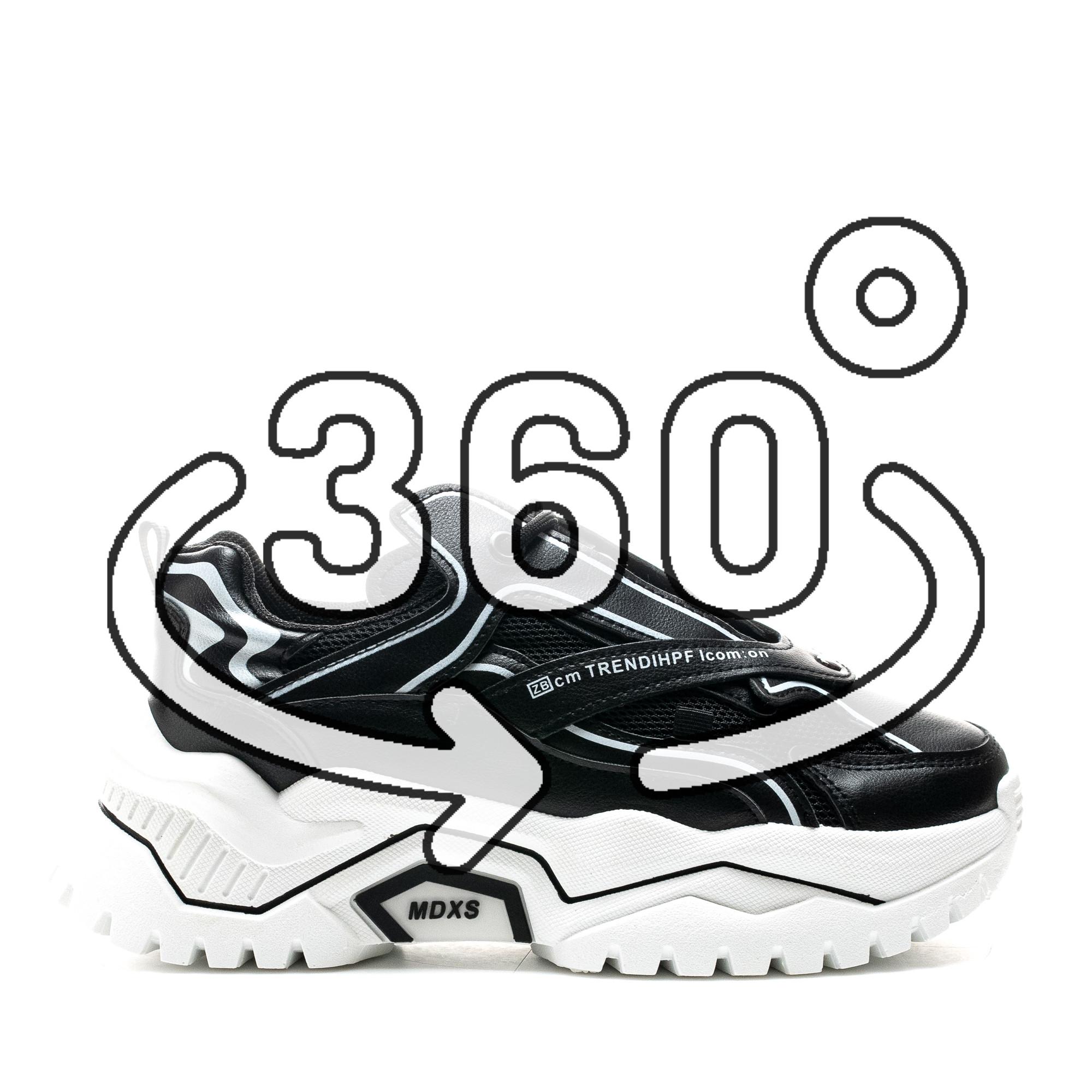 Pantofi Sport Cod: K01-1 BLACK (J03)