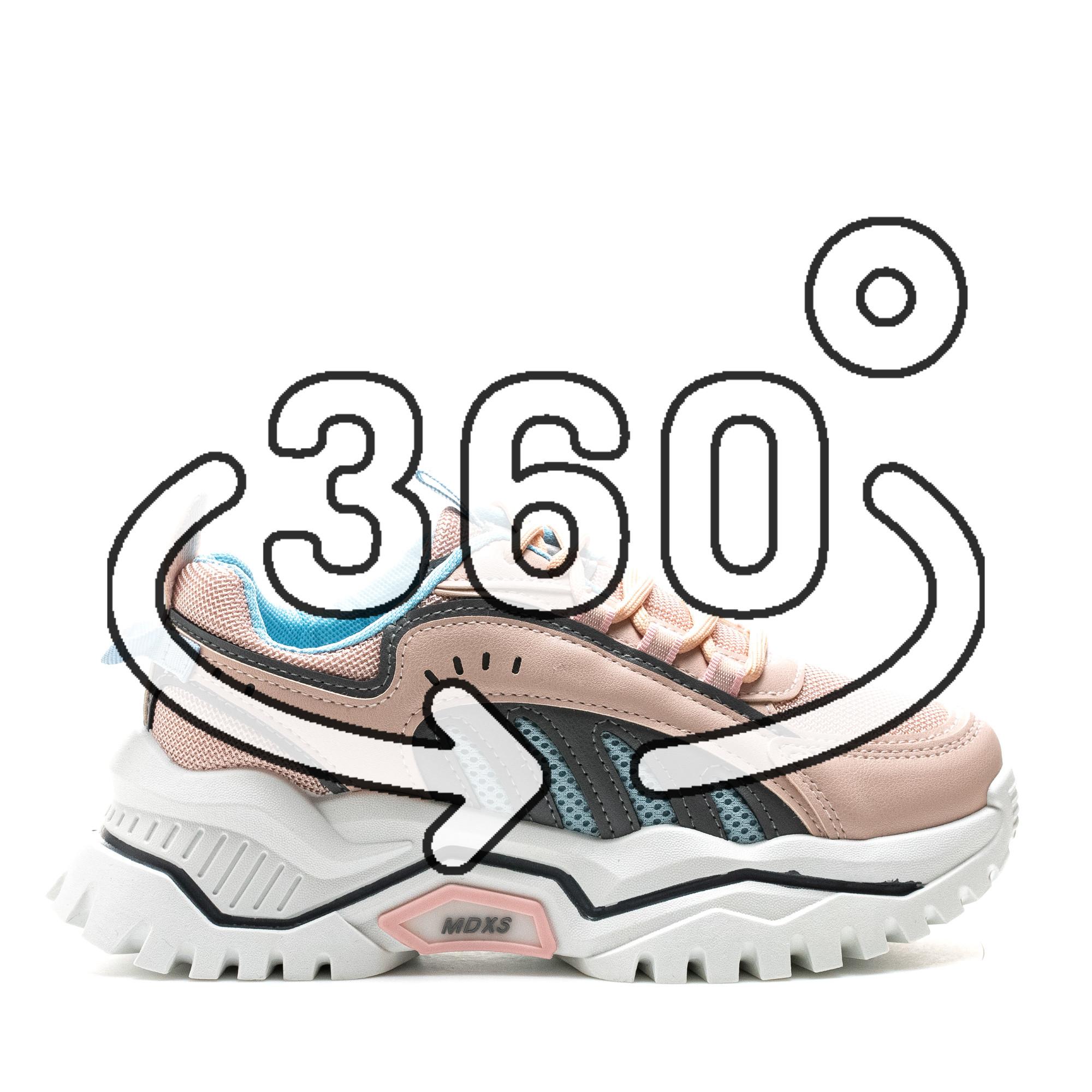 Pantofi Sport Cod: 61-3 PINK (G01)