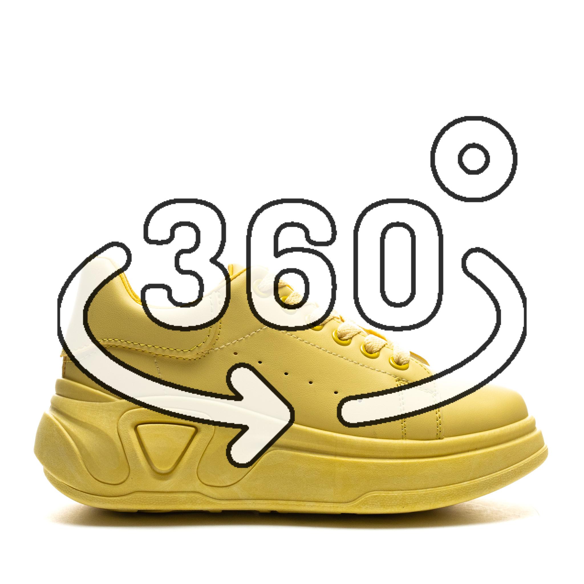 Pantofi Sport Cod: LA158 YELLOW (J01)
