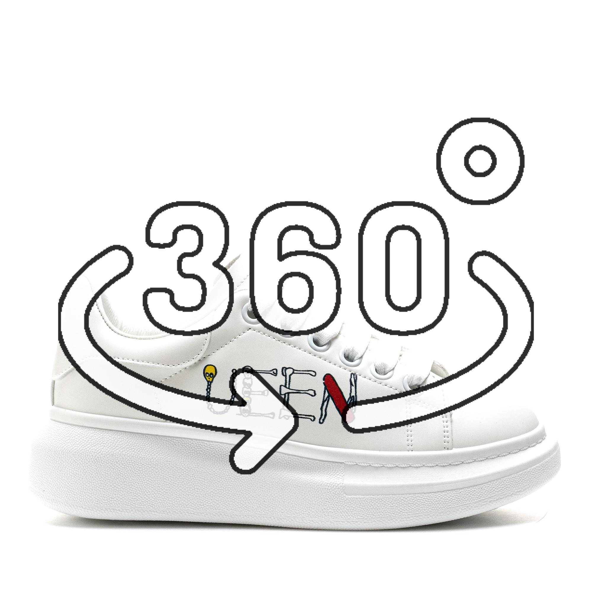 Pantofi Sport Cod: 20C09 WHITE (i 02)