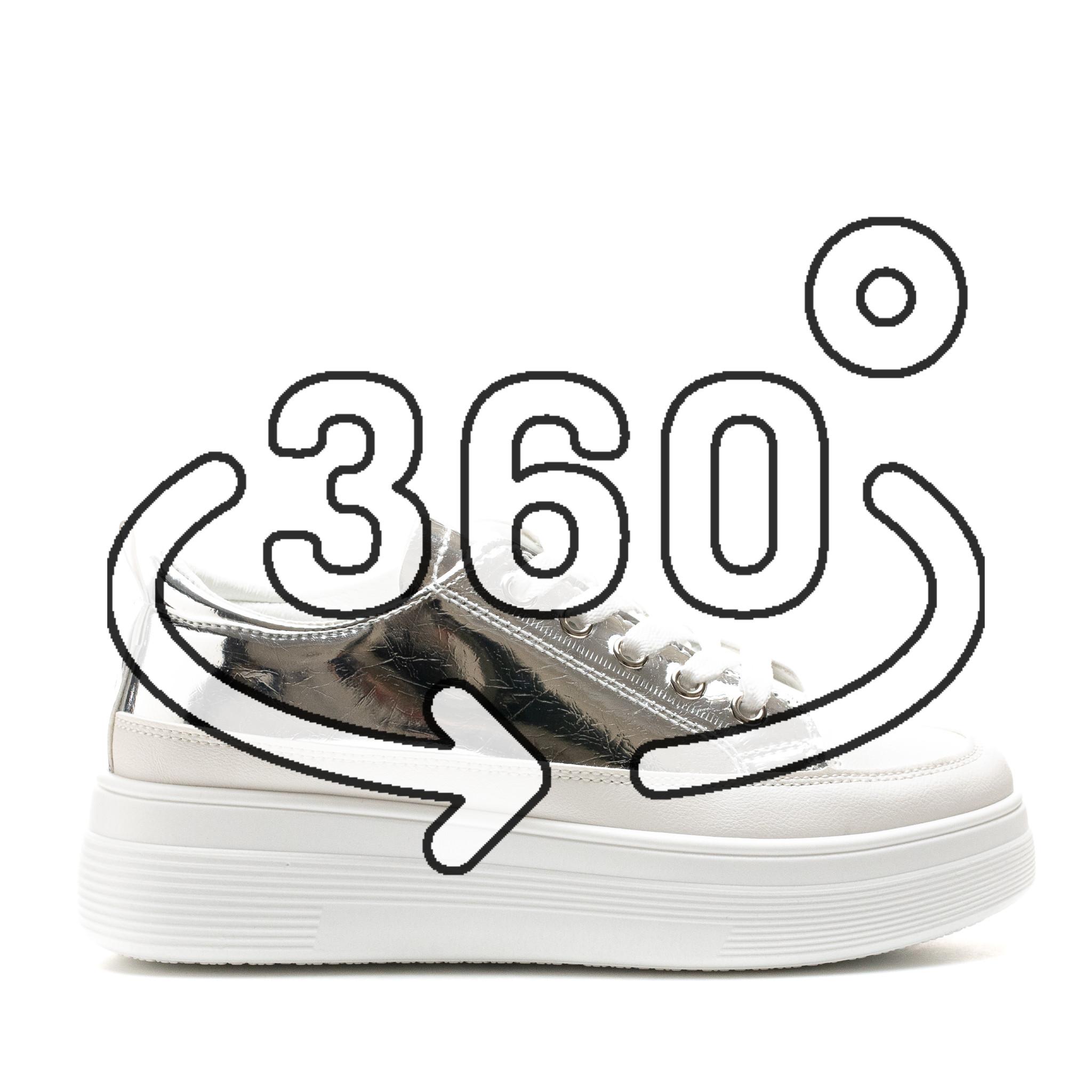Pantofi Sport Cod: 8811 SILVER (C 07)