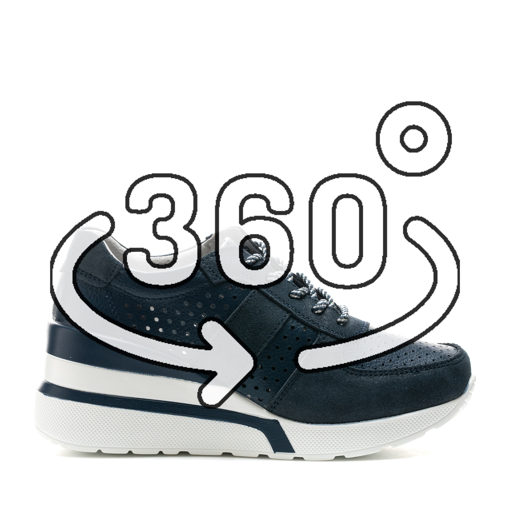 Pantofi Sport Cod: XH-2007 NAVY (F03)