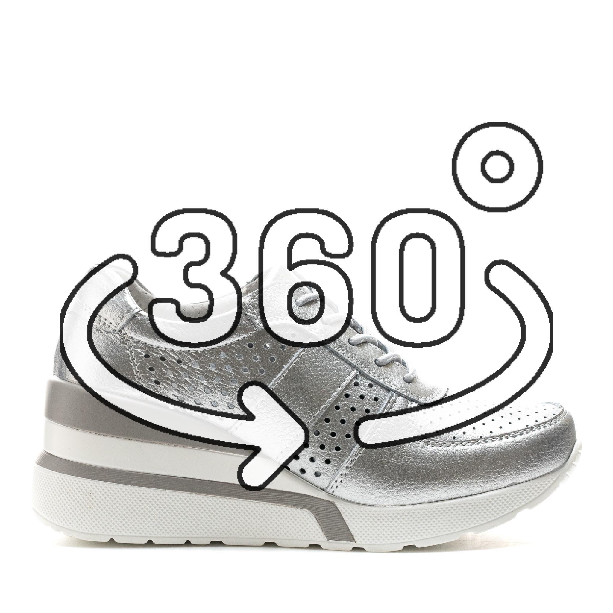 Pantofi Sport Cod: XH-2007 SILVER (F03)