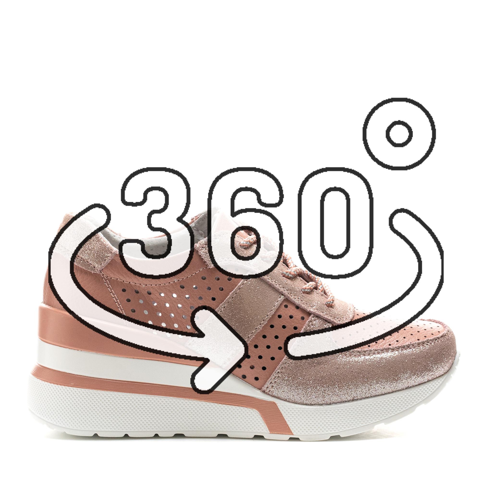 Pantofi Sport Cod: XH-2007 DK. PINK (H04)(E010)