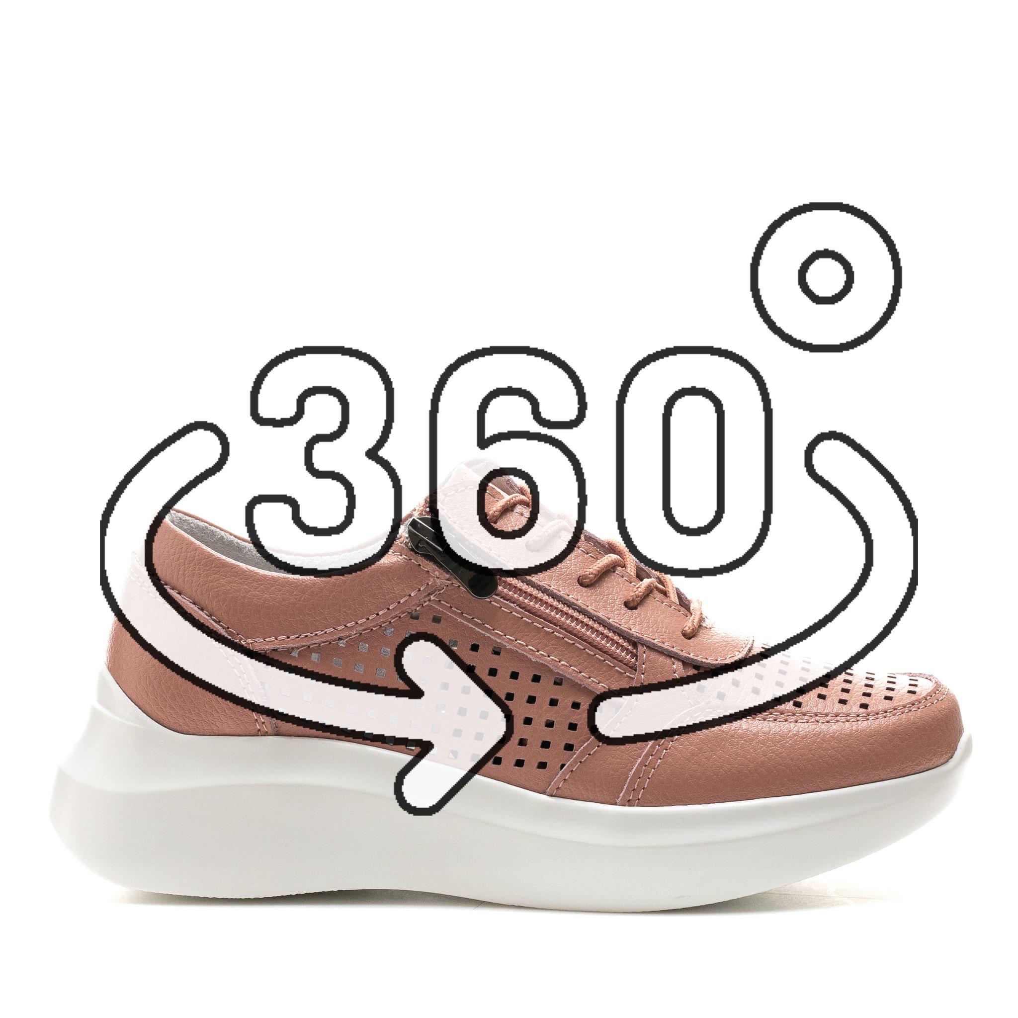Pantofi Sport Cod: XH-2018 DK. PINK (G02)
