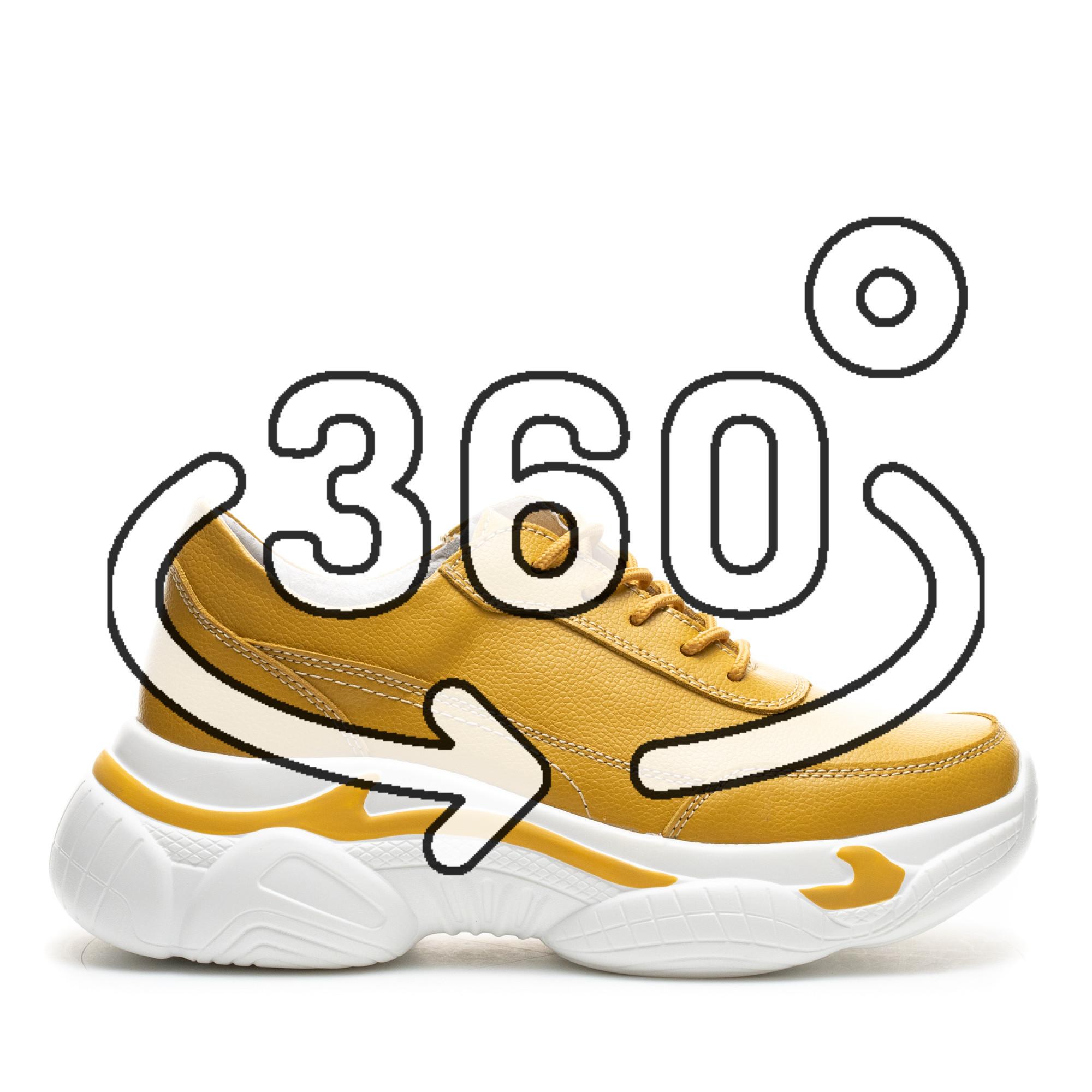 Pantofi Sport Cod: PL-3101 MUSTARD (C 09)